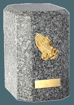 Kaiser Grey Cremation Urn