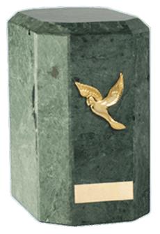 Kaiser Green Cremation Urn