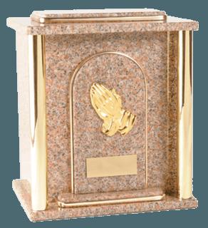 Kratos Vermilion Cremation Urn