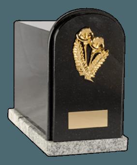 Mal Nero Cremation Urn