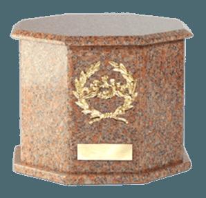 Mila Vermilion Cremation Urn