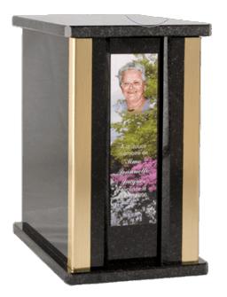 Olympia Nero Cremation Urn
