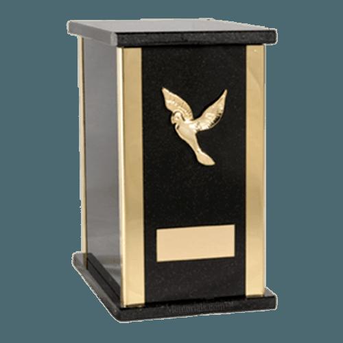 Stella Nero Cremation Urn