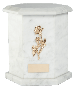 Tuscany Carrara Cremation Urn