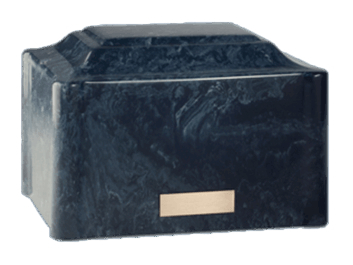 Vitalis Blue Cremation Urn