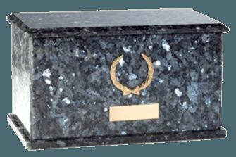 Charleston Blue Pearl Cremation Urn