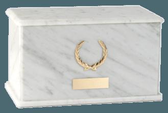 Charleston Carrara Cremation Urn