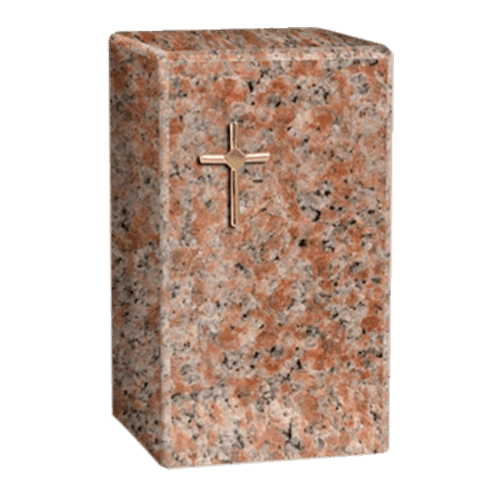 Faithful Vermilion Cremation Urn