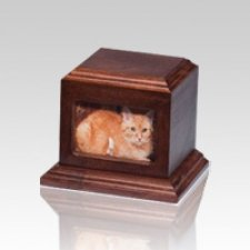 Fireside Pet Cherry Picture Urn - Medium