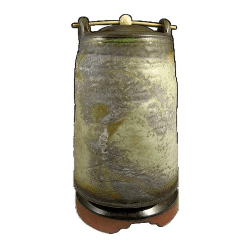 Langundo Soda Fired Urn