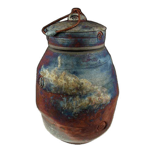 Magura Mountain Raku Urn