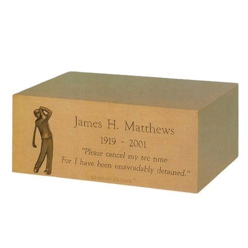 Monogram Jewel Case Cremation Urn