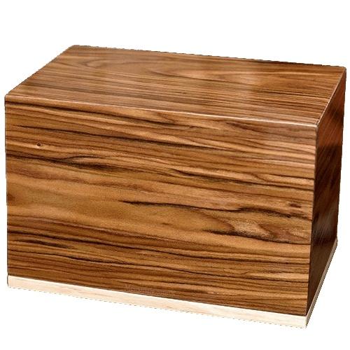 Premium Wood Cremation Urn