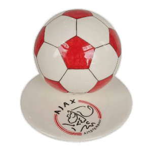 Red Logo Small Soccerball Urn