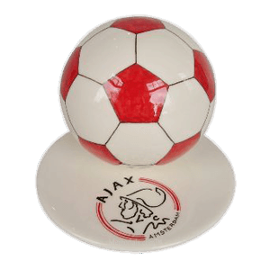 Red Logo Soccerball Urns