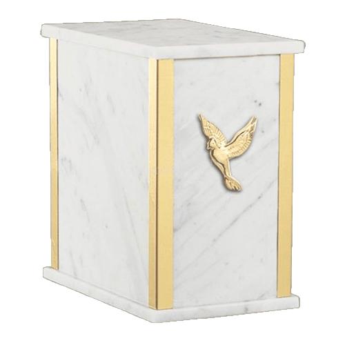 Stella Carrara Cremation Urn