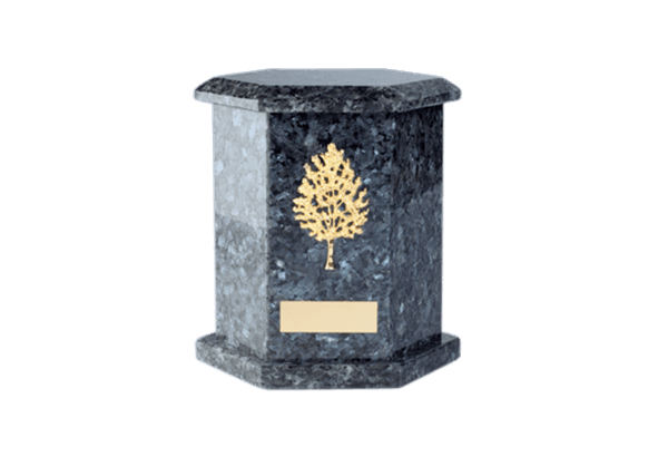 Tuscany Blue Pearl Cremation Urn