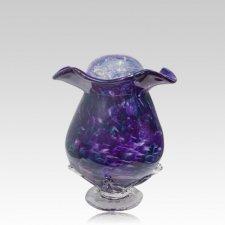 Purple Fantasy Keepsake Cremation Urn