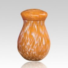 Orange Capri Children Cremation Urn