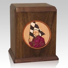 Racing Cremation Urn