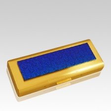 Radiance Sleek Gold Keepsake Urn
