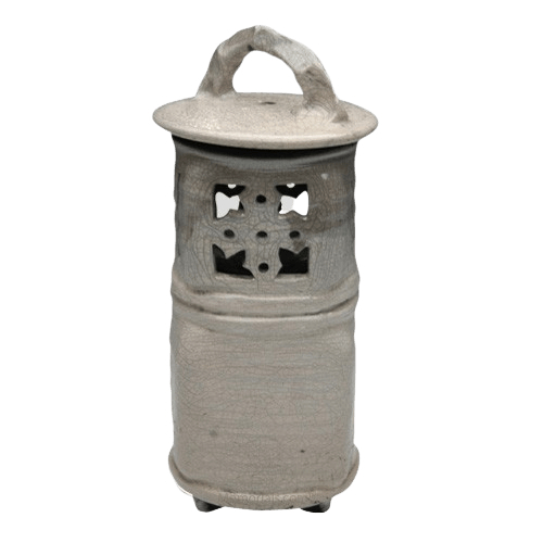 Nature Raku Lantern Light Me Home Urn