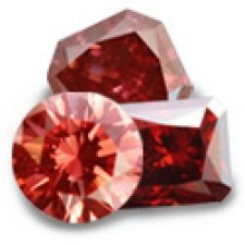 Red Cremation Diamonds