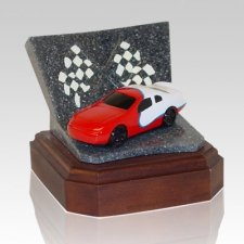 Red Race Car Keepsake Urn