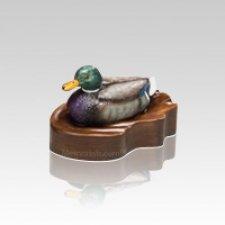 Regal Mallard Duck Keepsake Cremation Urn