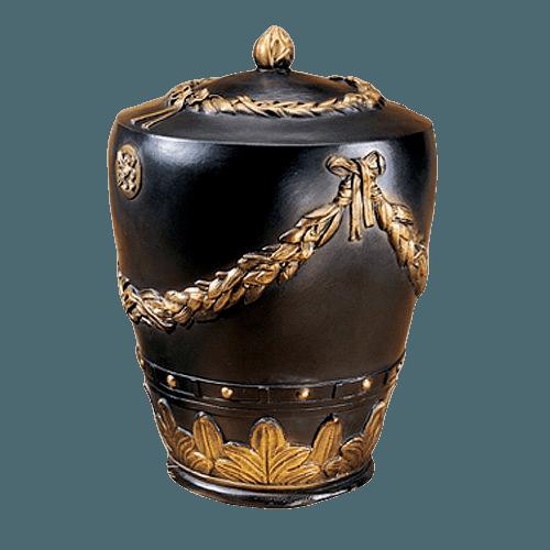 Roman Wreath Cremation Urn