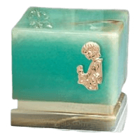 Innocence Onyx Child with Toy Cremation Urn