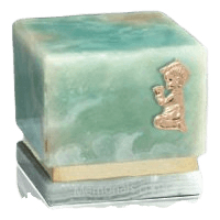 Innocence Light Onyx Praying Boy Cremation Urn