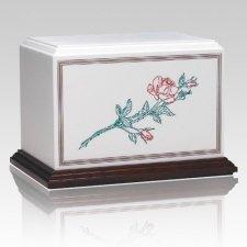 Rose Garden Cremation Urn