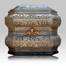 Renaissance Sculpted Art Cremation Urn