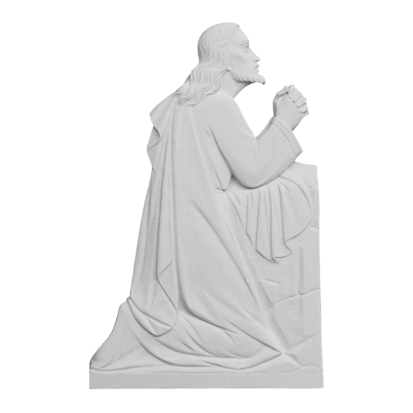 Christ In Prayer Marble Statue