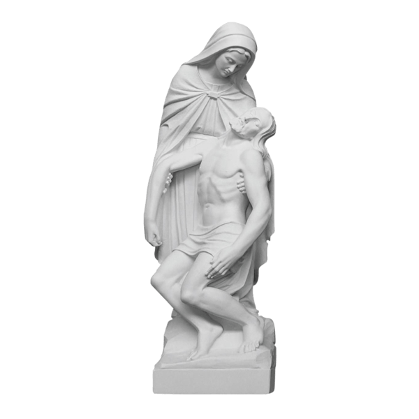Holy Crucifixion Marble Statue
