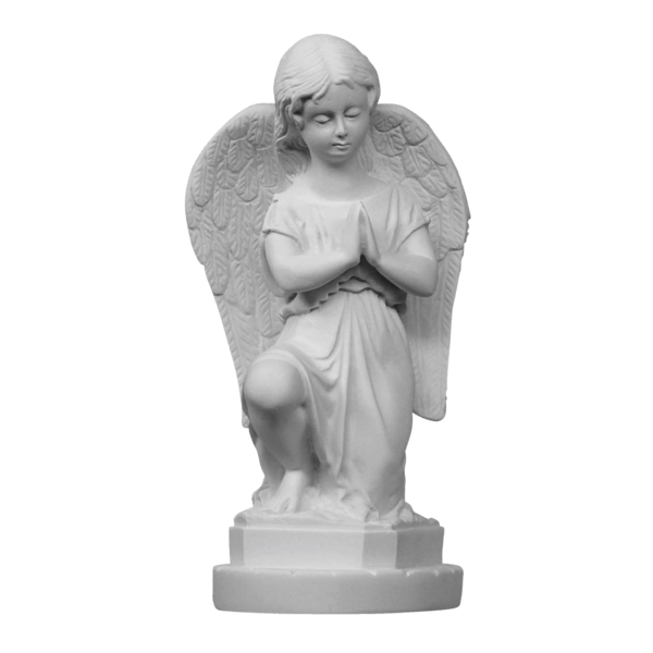 Forgiven Angel Marble Statue