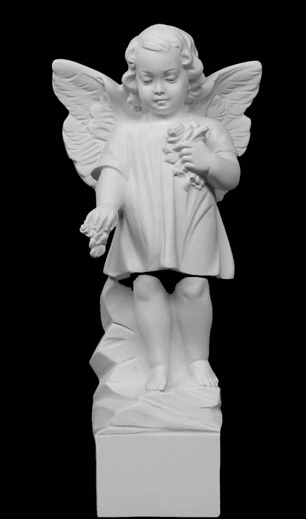 Giving Angel Marble Statue
