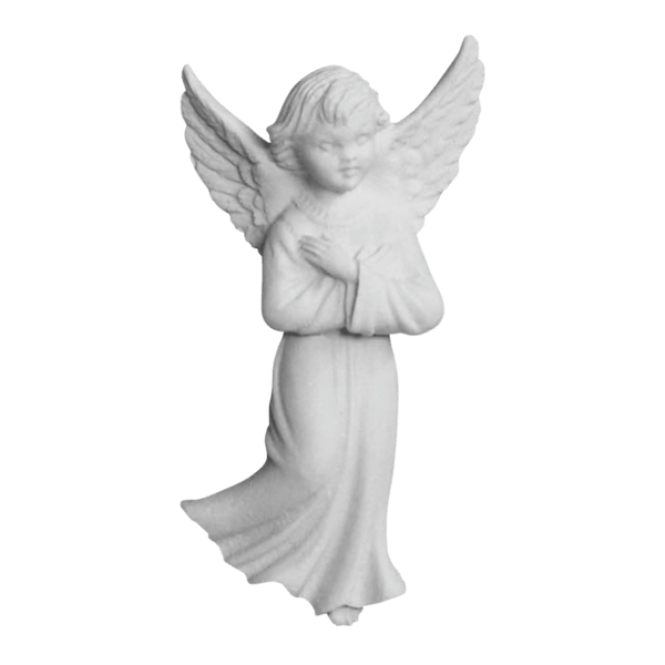 Angel Relief Marble Statue