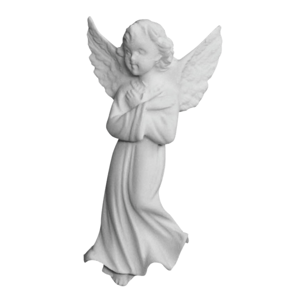 Forgiving Angel Marble Statue