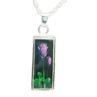 Purple Rose Keepsake Jewelry