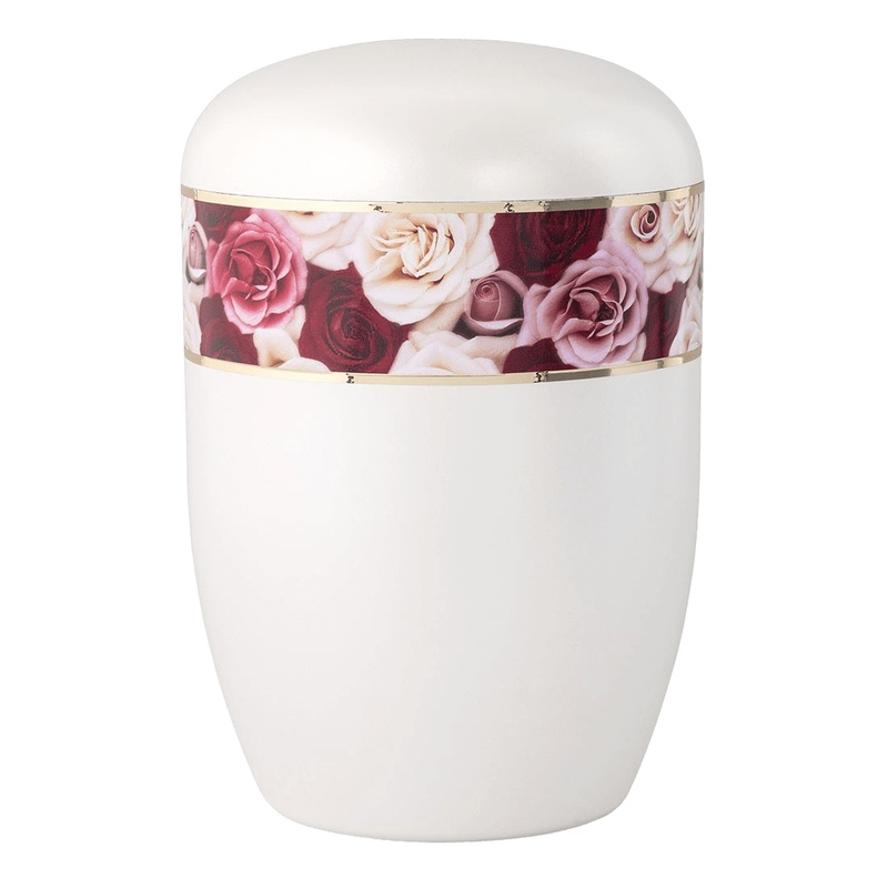 Roses Biodegradable Urn