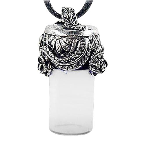 Roses & Leaves Cremation Necklace