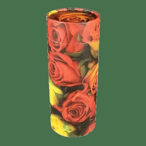 Roses Scattering Mini Biodegradable Urn