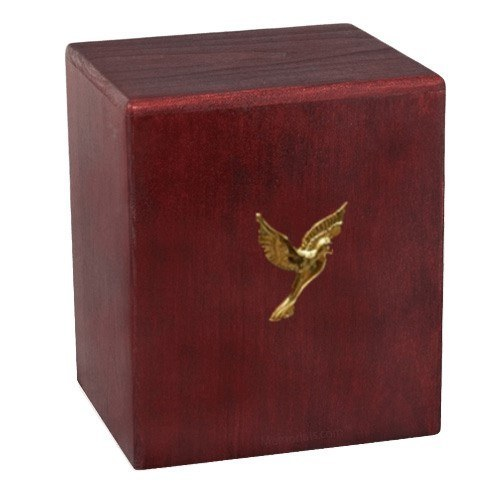 Rosewood Dove Cremation Urn