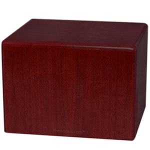 Rosewood Large Pet Cremation Urn