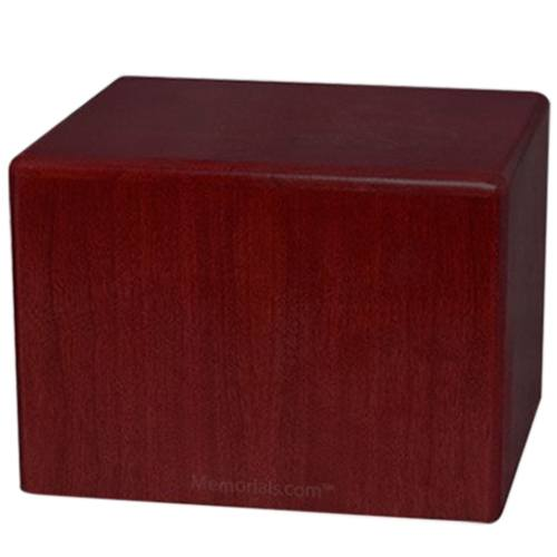 Rosewood Small Pet Cremation Urn