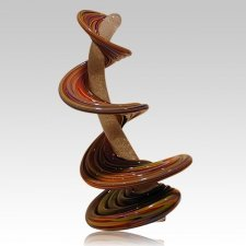 Tower Of Life Earth Tones Cremation Sculpture
