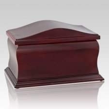 Scala Wood Cremation Urn