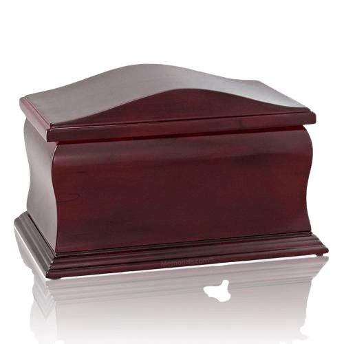 Scala Wood Cremation Urn